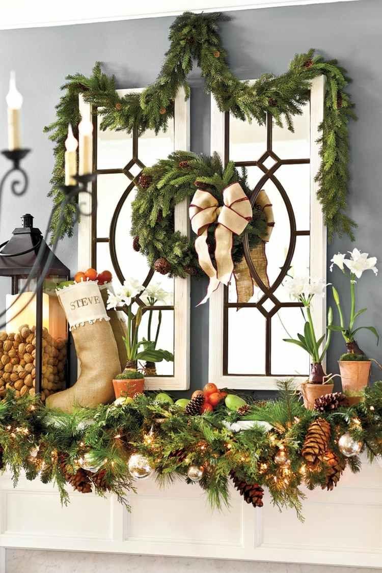 Super Noël 2015 : faites une déco originale et festive de vos fenêtres  DW65