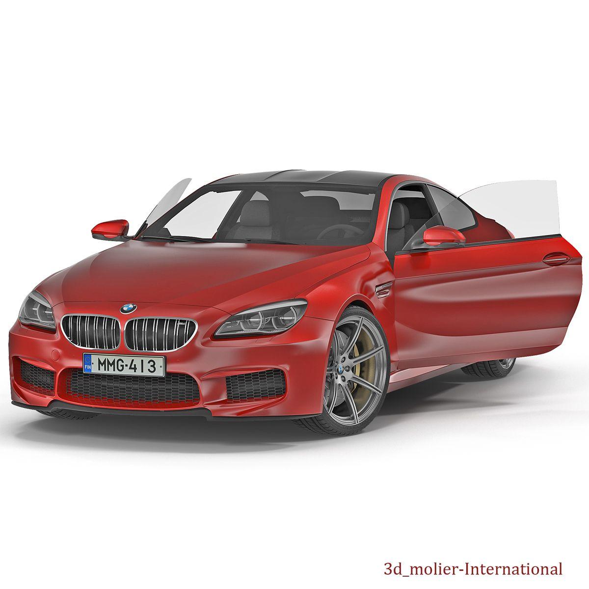 3D Model BMW 6 series 2016 Rigged http//www.turbosquid