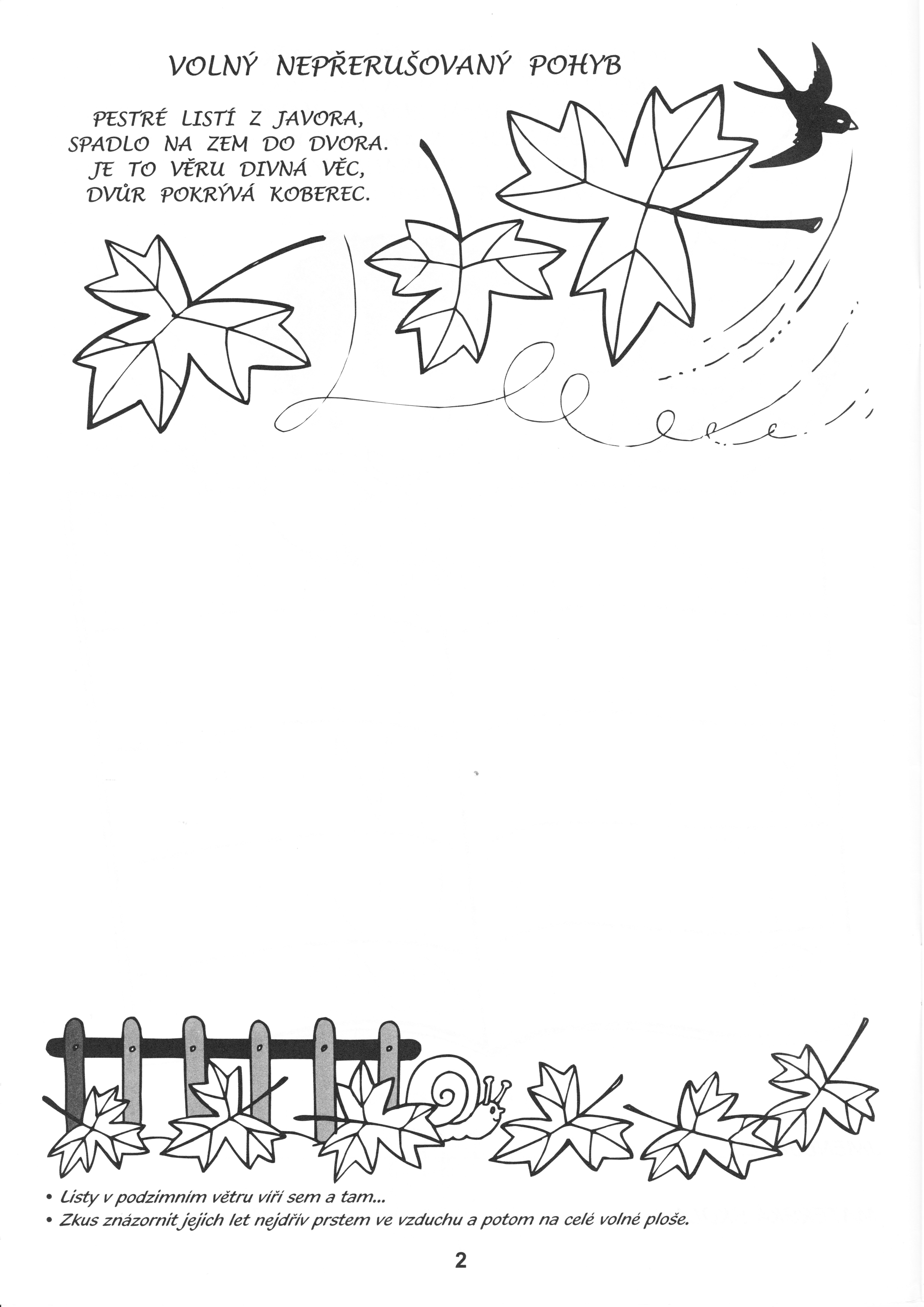 Grafomotorika Listi