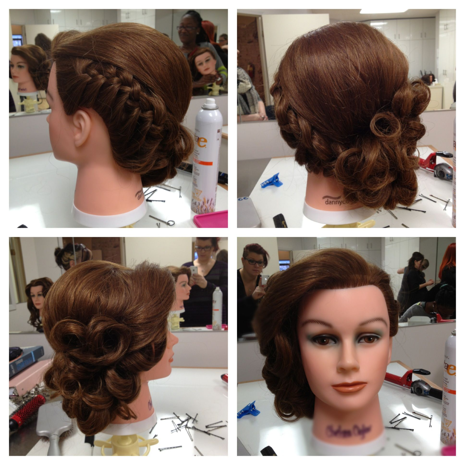 Pin By Maritza Lazcano On Hair Pin Curl Hair Pin Curl Updo Curled Updo