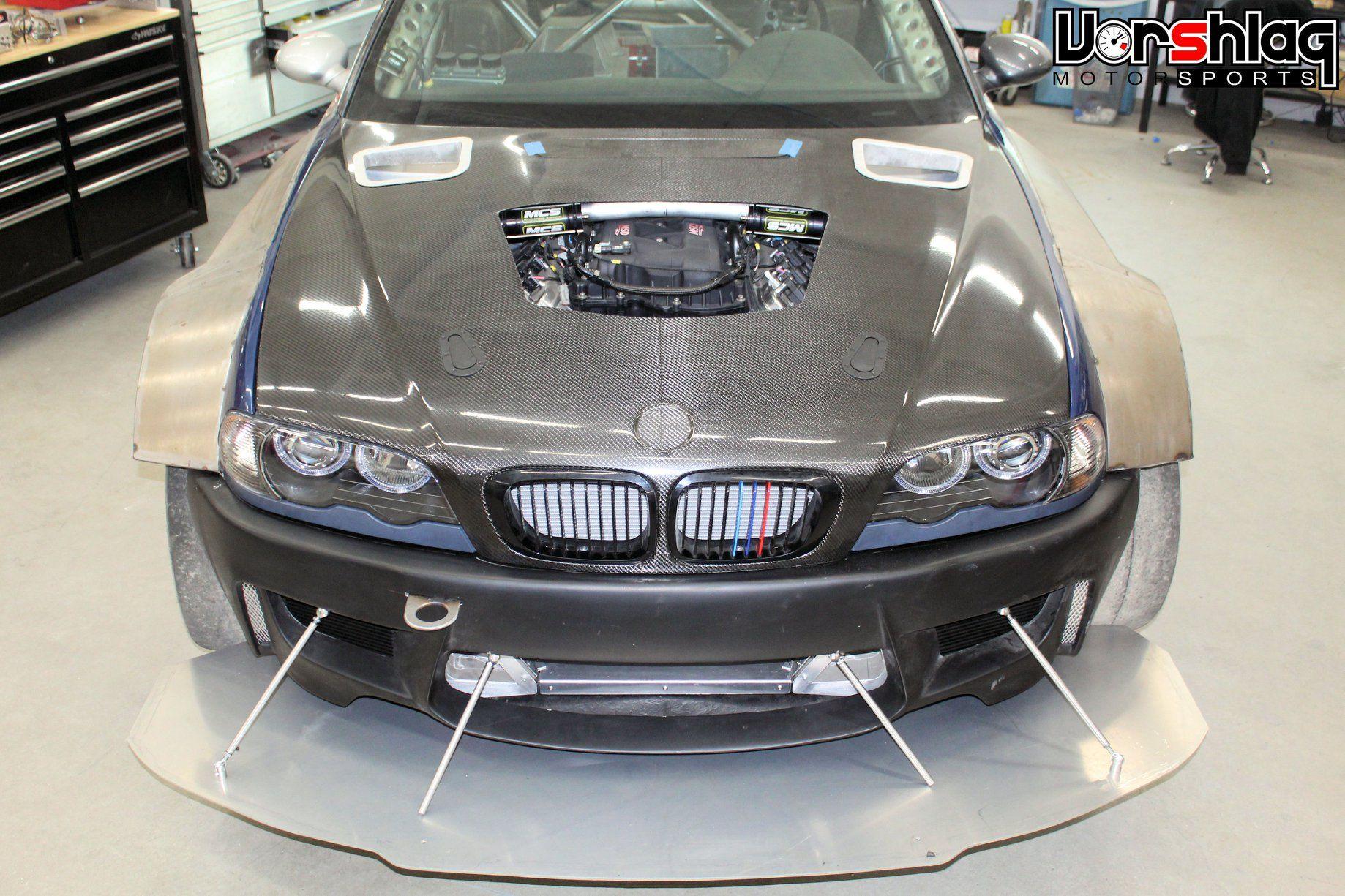 BMW E46 M3 with a 468 ci LS7 V8 – Engine Swap Depot | BMW