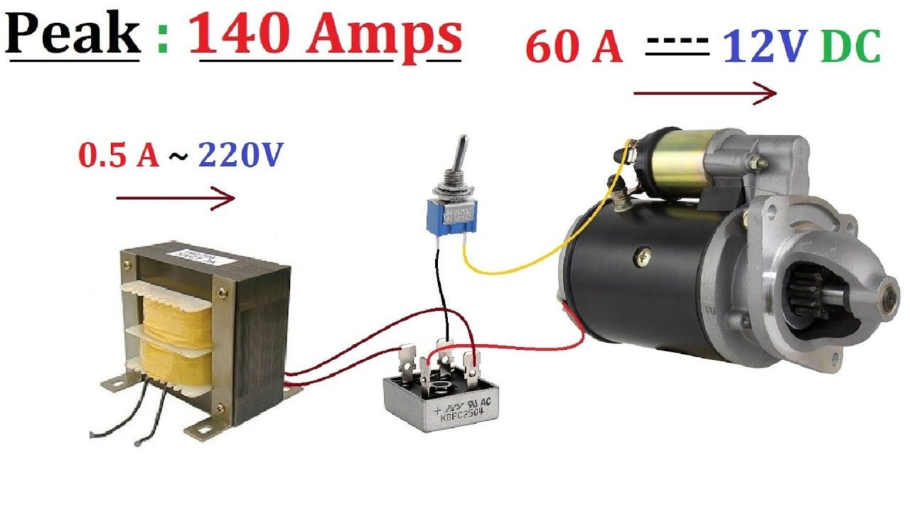 12v 60a Dc From 220v Ac For High Current Dc Motor 1000w Amazing