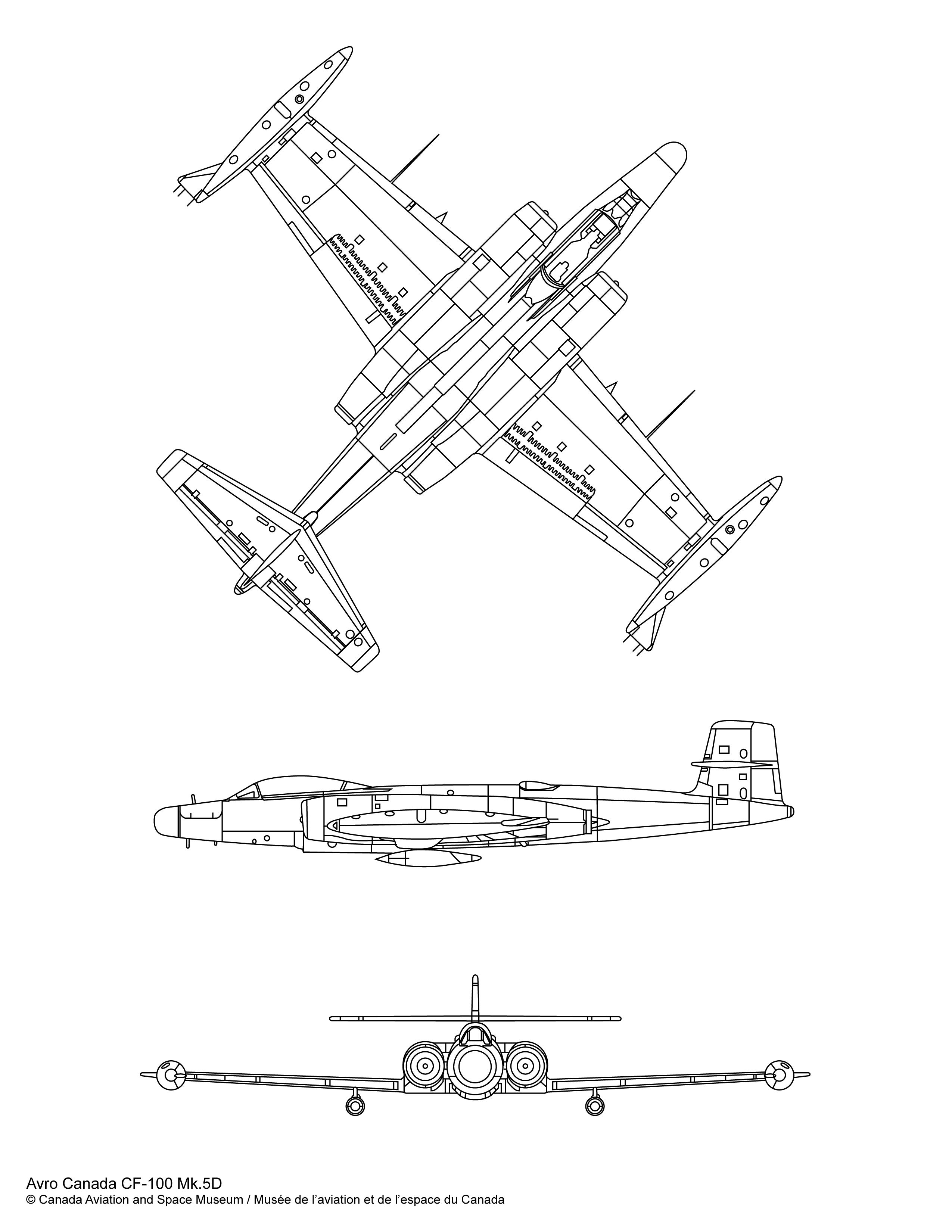 Avro Canada Cf 100 Mk 5d
