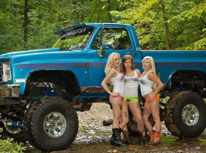 Ford Lifted Trucks Monster Trucks A Monster Truck Is A
