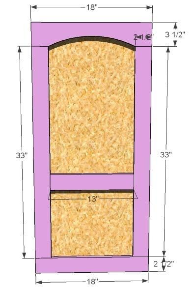 Build A Playhouse Door
