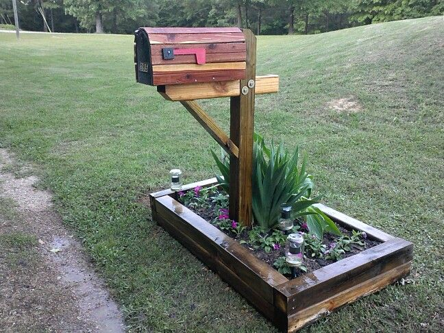 Rustic Mailbox Landscapemailbox Pat Chiles In 2018 Pinterest