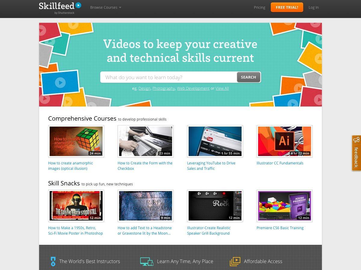20 Best Online Courses Websites For Web Designers And Developers Best Online Courses Free Online Website Online Courses