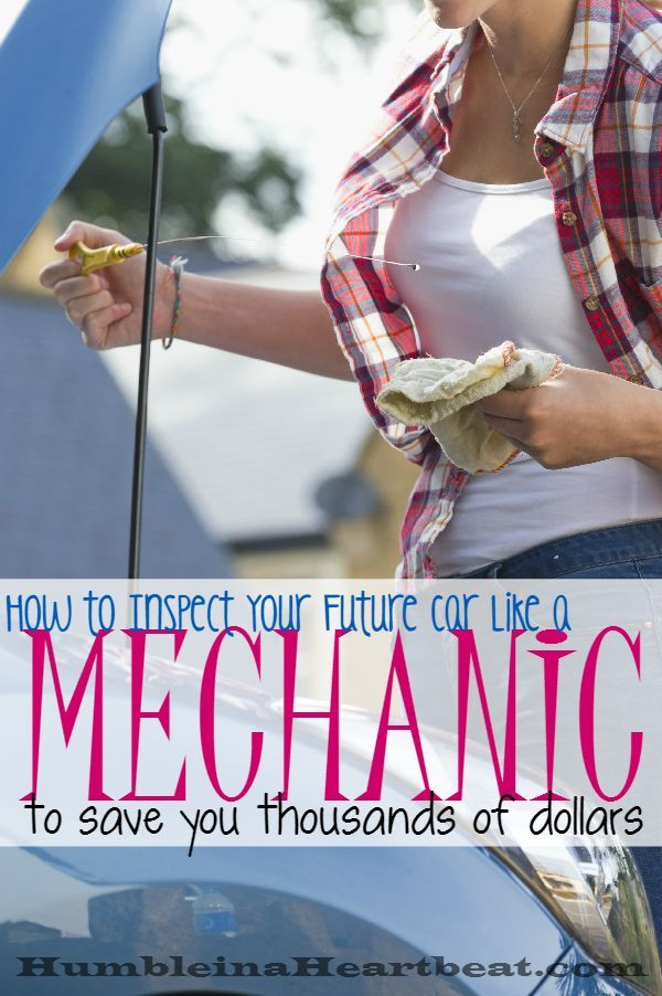 How to Inspect a Car Like a Mechanic to Save Money
