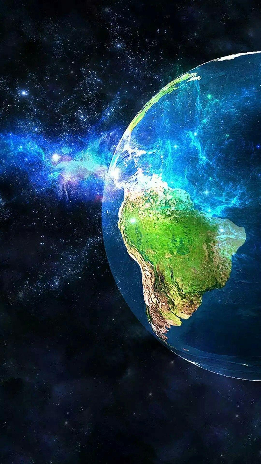 Globe Galaxy Wallpaper Wallpaper Earth Iphone Wallpaper Earth