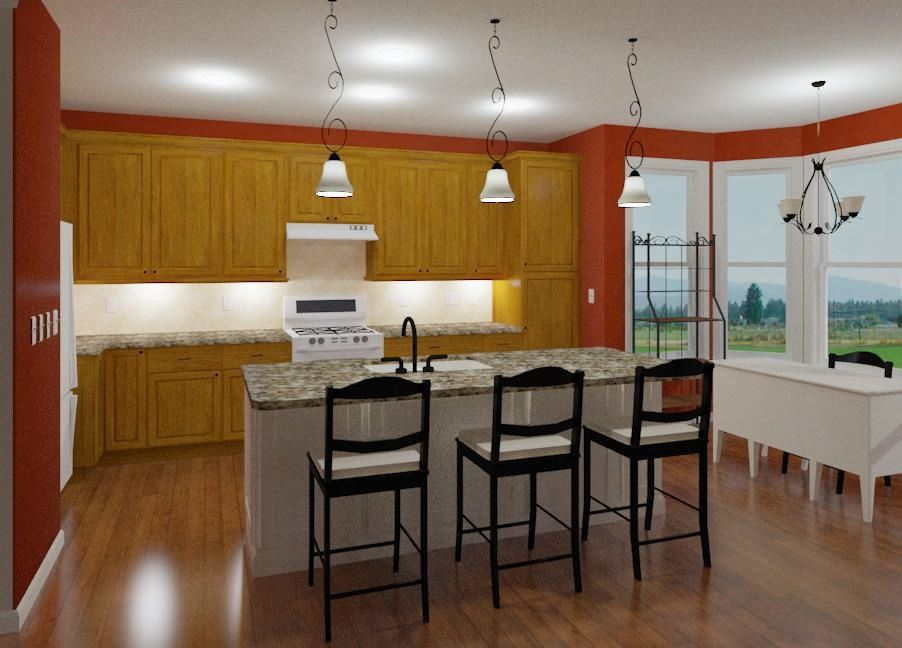 a kitchen raytrace can really help you visualize with chief architect inc - Chief Architect Interior Design