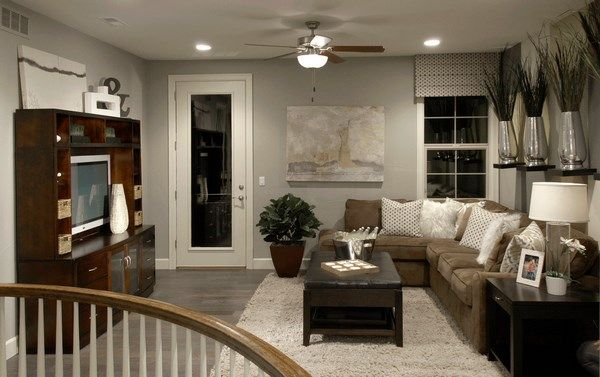 Remarkable Living Room Design Gray Wood Flooring Brown Sofa Wooden Caraccident5 Cool Chair Designs And Ideas Caraccident5Info