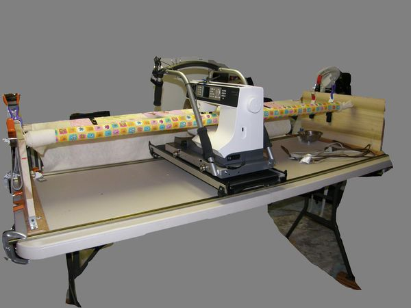 Home Built Machine Quilting Frame Quilting Pinterest Quilting