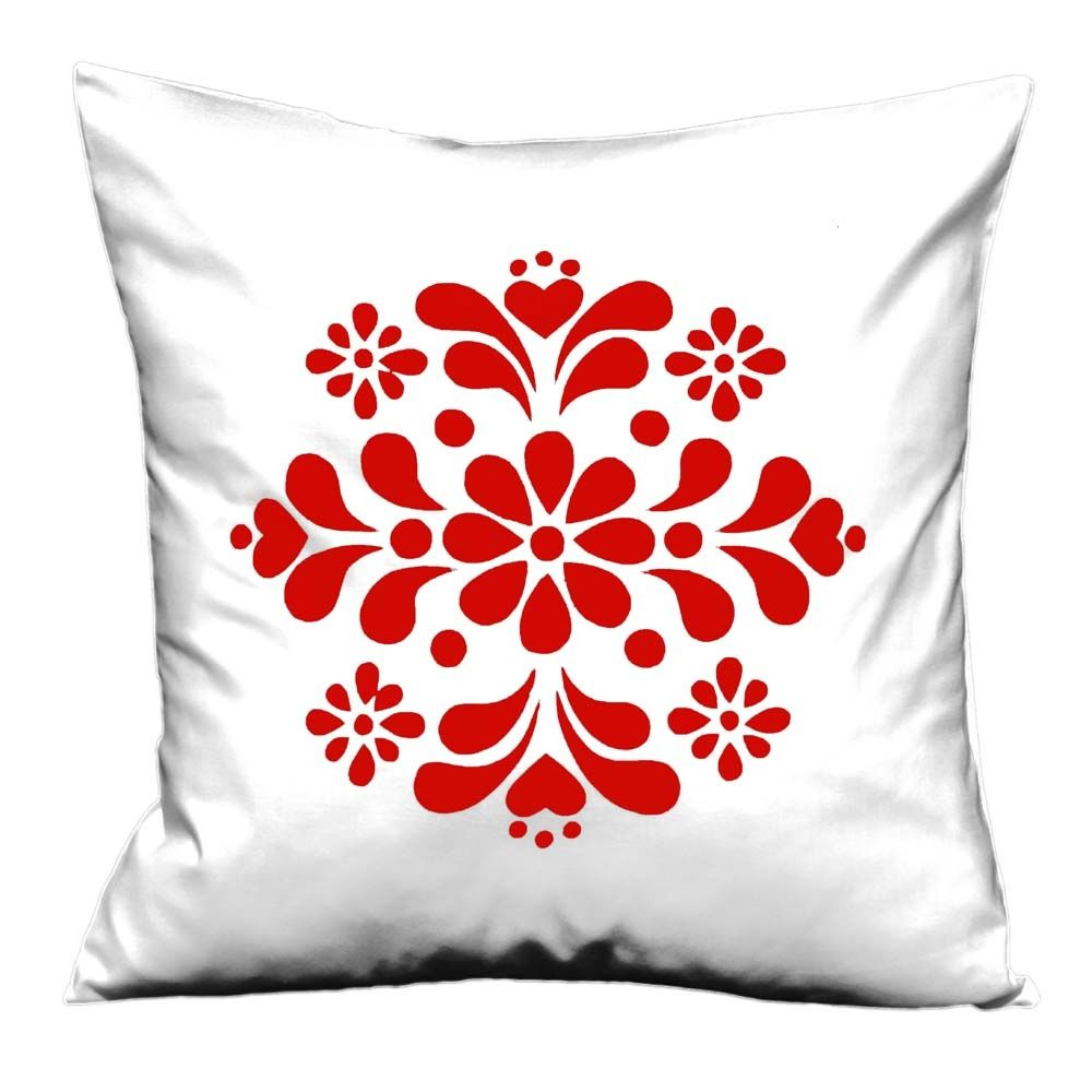 Swedish Kurbits flowers handmade cushion cover - hardtofind ...