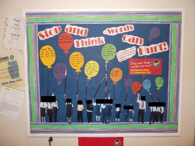 Anti Bullying classroom display photo Photo gallery