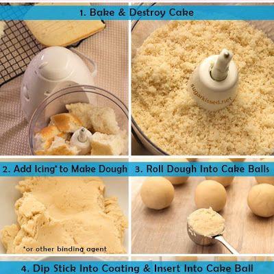 How To Make Cake Pops Recipe Recipe Cake Pops How To Make Cake Pop Recipe Cake Pop Recipe Easy