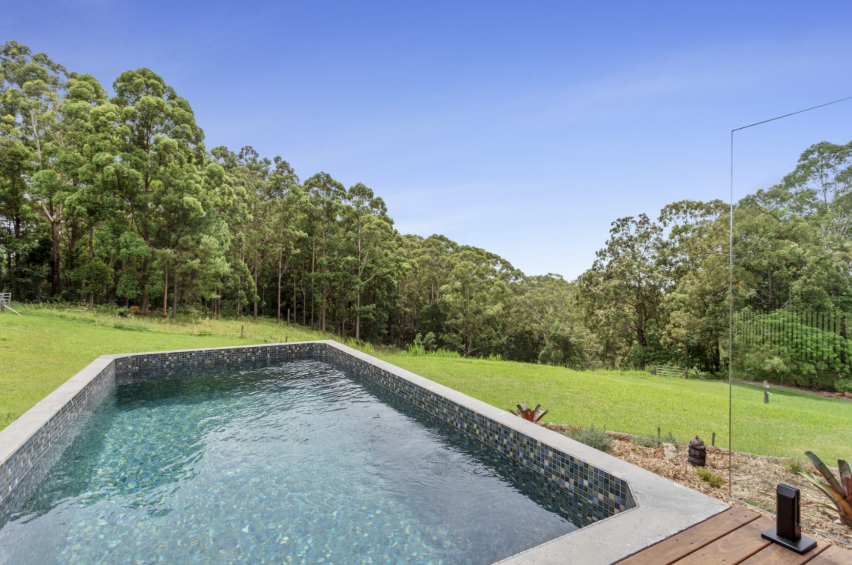 Rectangle Concrete Plunge Pool Plunge Pool Pool Sunshine Coast