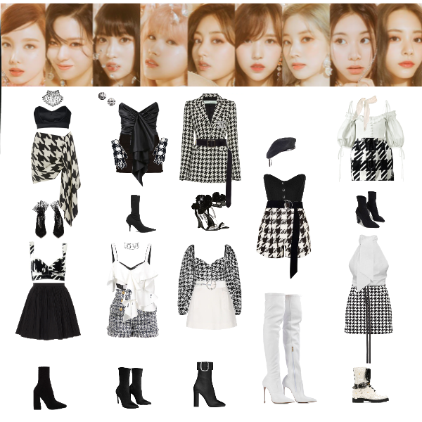 Fashion Set Twice Feel Special Created Via Cute Edgy Outfits Girls Fashion Clothes Fashion Outfits