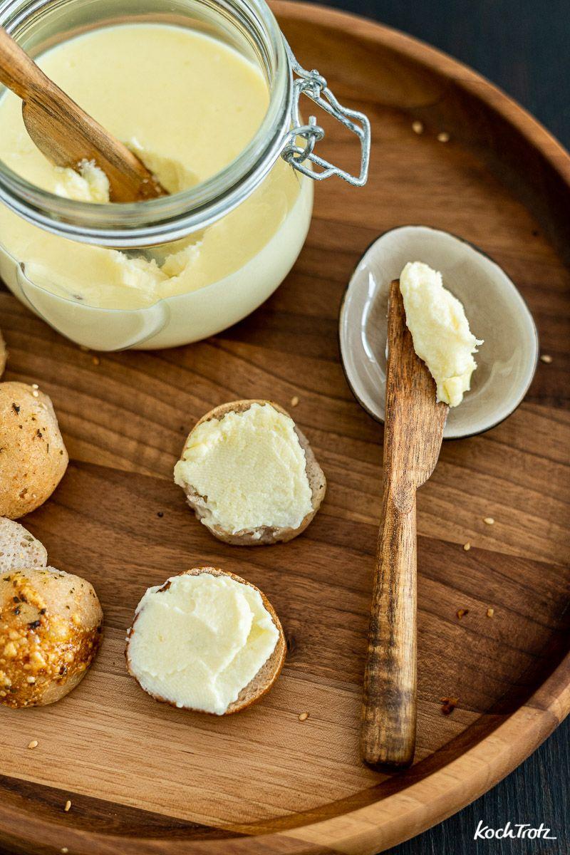 Schmelzkäse selber machen   histaminarm und optional laktosefrei - KochTrotz   kreative Rezepte