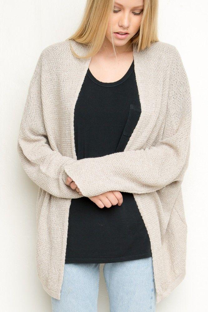 Brandy Melville Caroline Cardigan Clothing Women Sweaters