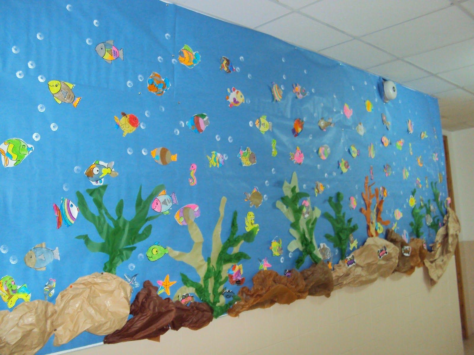 Proyecto mar infantil resultados de yahoo espa a en la for Como decorar un mural