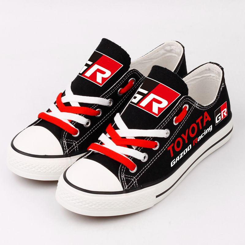 TOYOTA GAZOO RACING Low Top Canvas Shoes