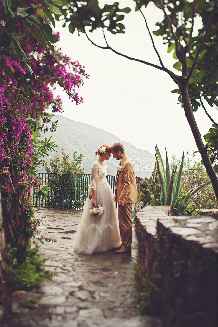 Gorgeous Positano Italy Wedding I Love Her Dress Italy Wedding Italian Wedding Wedding