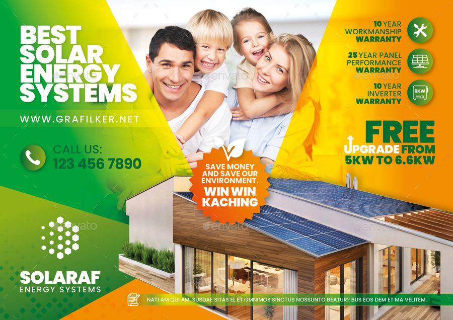 Solar Energy Bundle Templates Ad Energy Ad Solar Templates