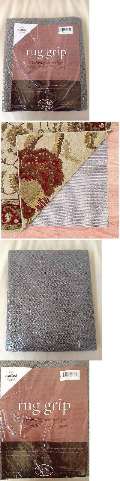 Rug Pads And Accessories 36956 Capel Rugs 4 X 6 Non Slip Standard
