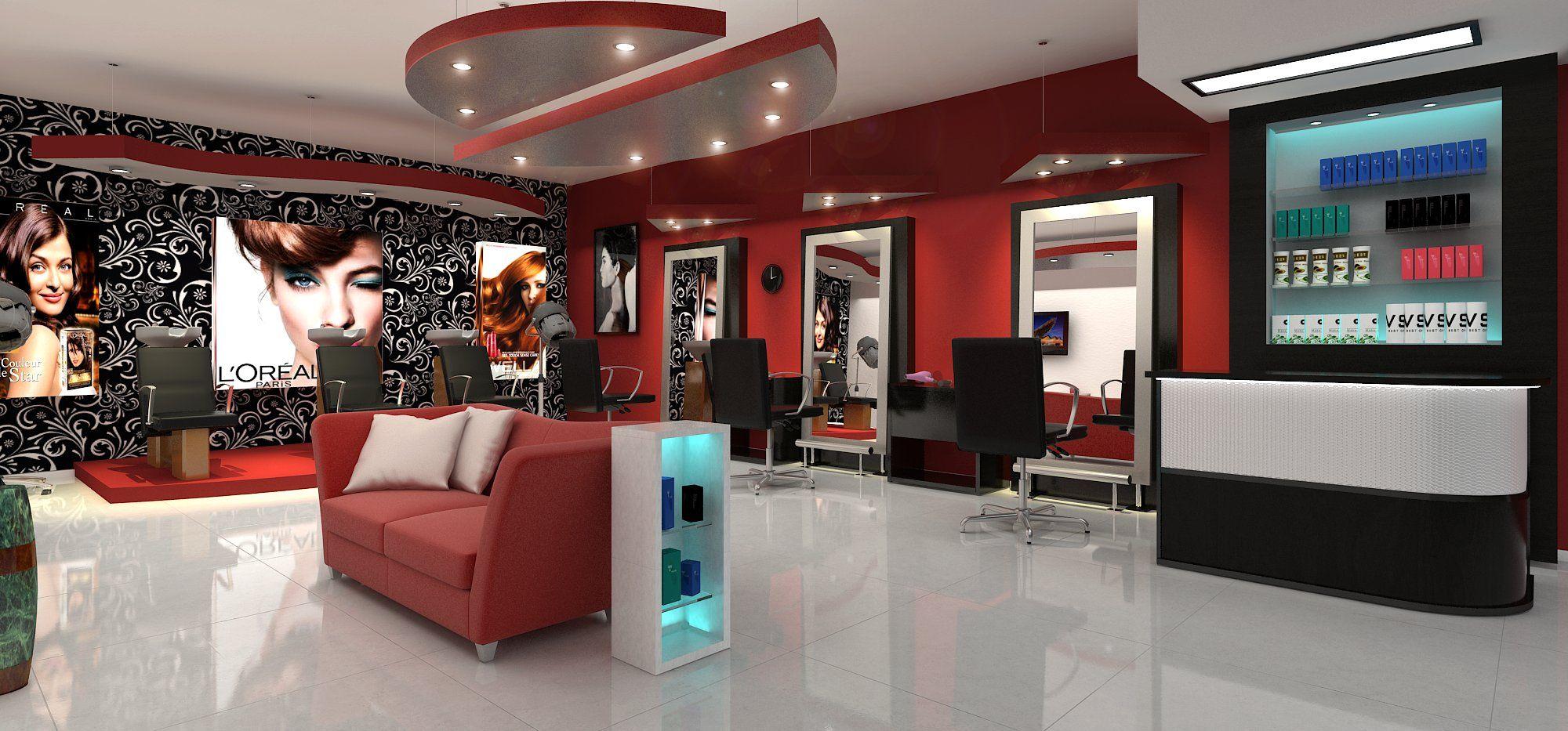 Resultado de imagen de dise o de salon de peluqueria - Salon de diseno ...