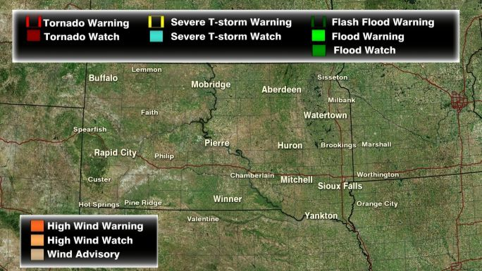 Weather With Images South Dakota Flood Watch Weather