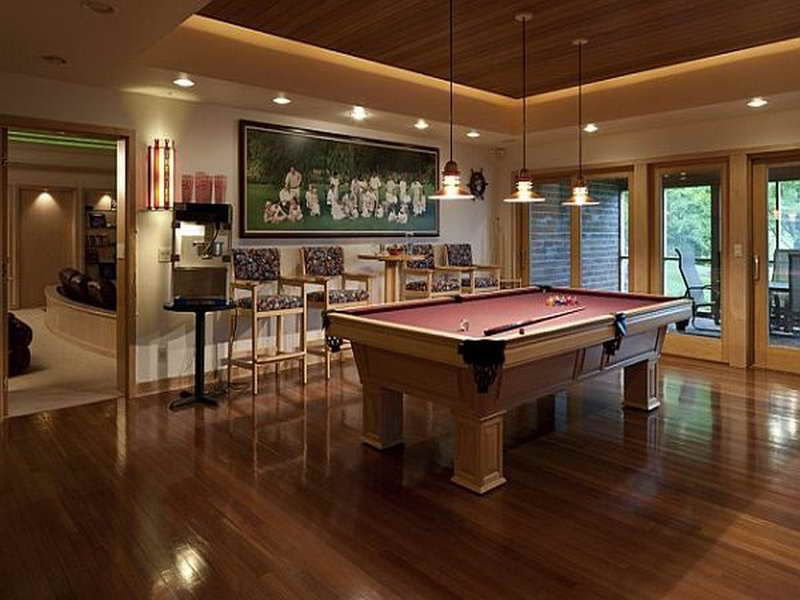 Elegant Design Game Room Decorating Ideas | Home Design - Game Room ...