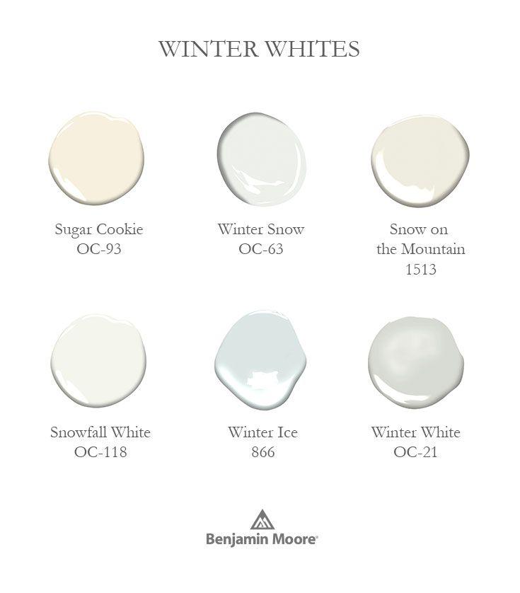 Color Overview Benjamin Moore Island Kitchenwinter Whitepaint