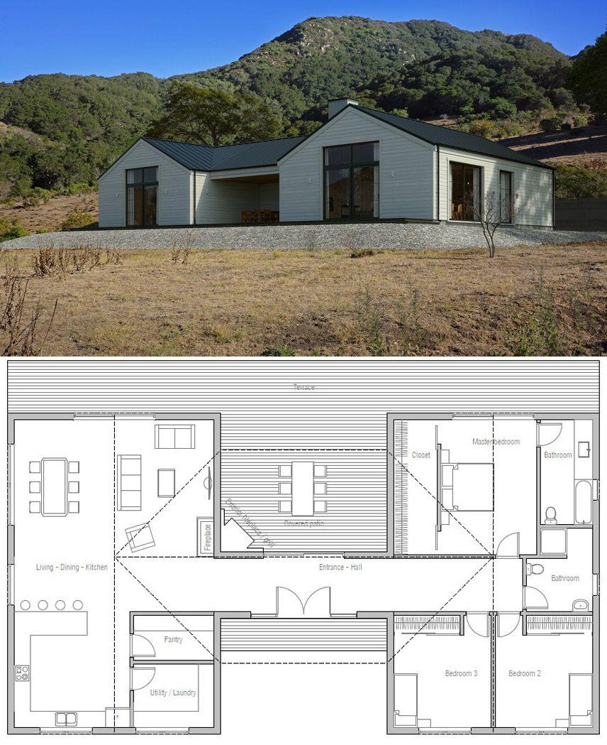 Modern Farmhouse Plans, #farmhouseplans #modernfarmhouse