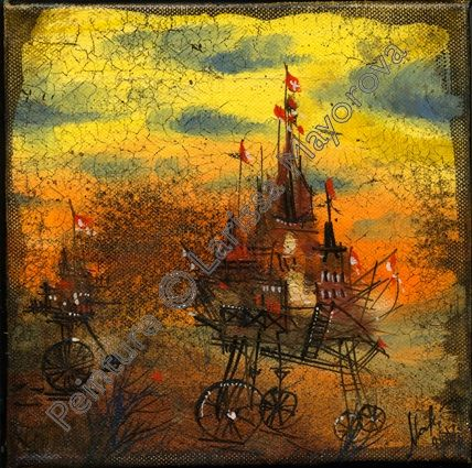 Painting by Larissa Mayorova