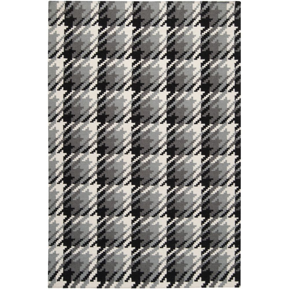 Hand-woven Hutt Grey Wool Rug (8' x 11') - Overstock™ Shopping - Great Deals on 7x9 - 10x14 Rugs