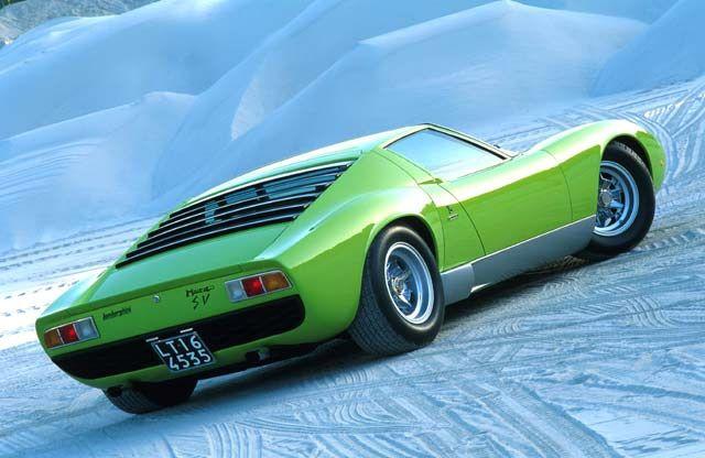 Lamborghini Miura Love The Back Window I Love Lamborghini Coches