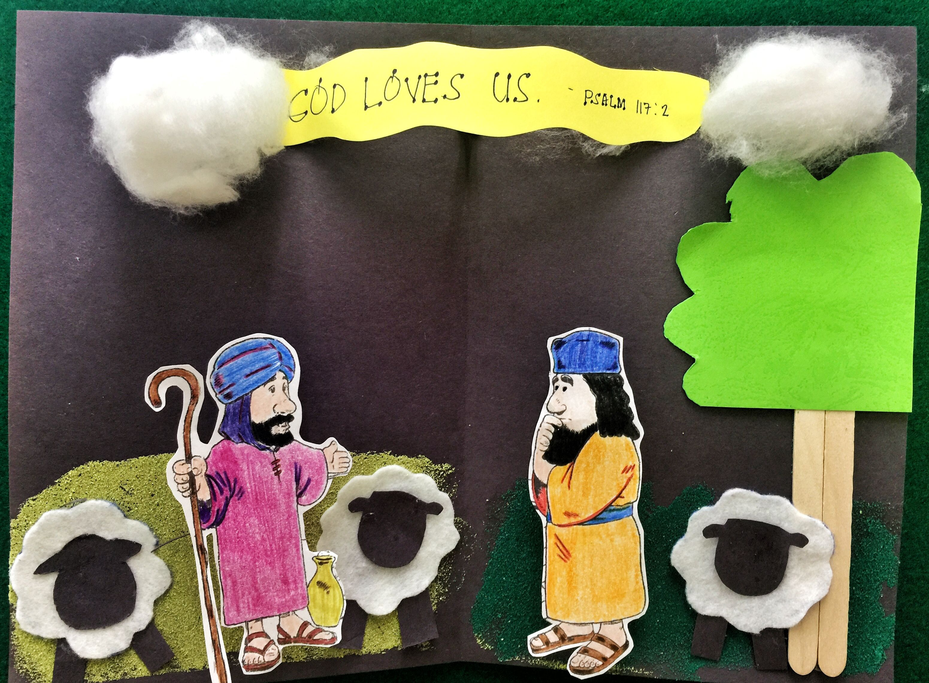 Abram And Lot Bible Crafts Sunday School Arts And Crafts God Loves Us