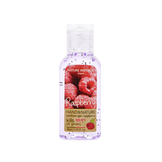Buy Nature Republic Hand And Nature Sanitizer Gel (Ethanol) - Raspberry 30ml | YesStyle
