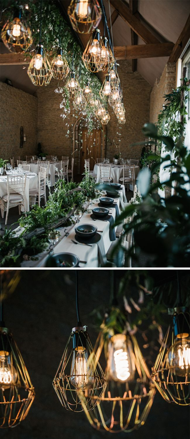 Wedding decorations barn  Incredible Woodland Wedding Theme Inspiration From Stratton Court