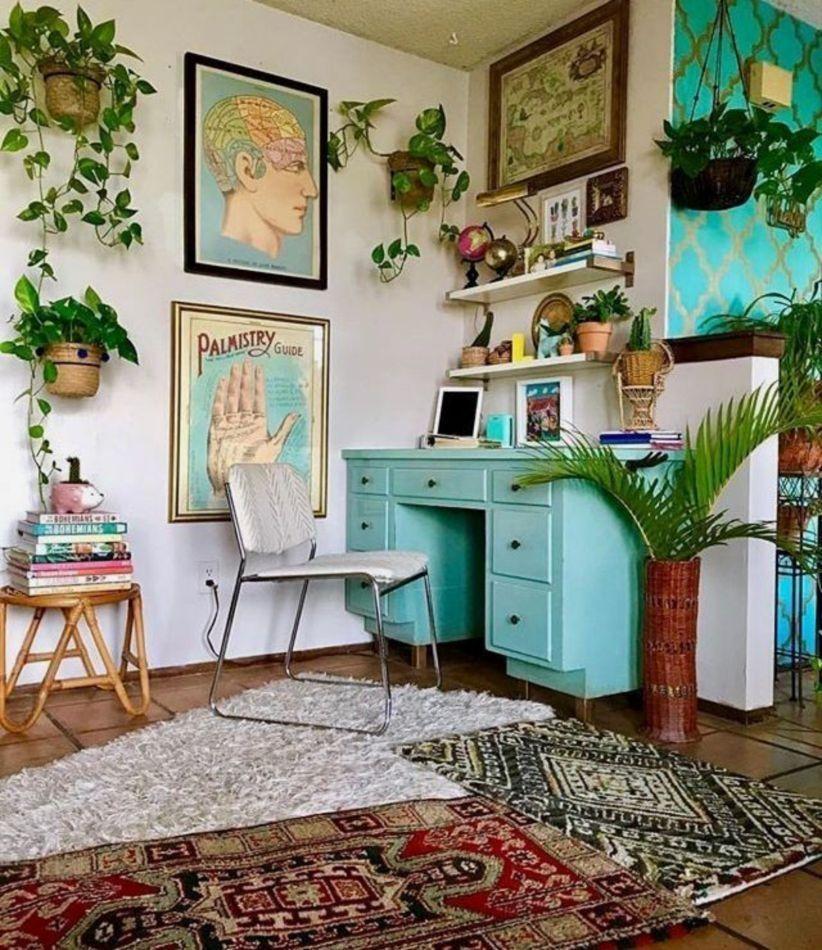 56 Amazing Home Office Design Ideas that Inspire #housedesigninterior