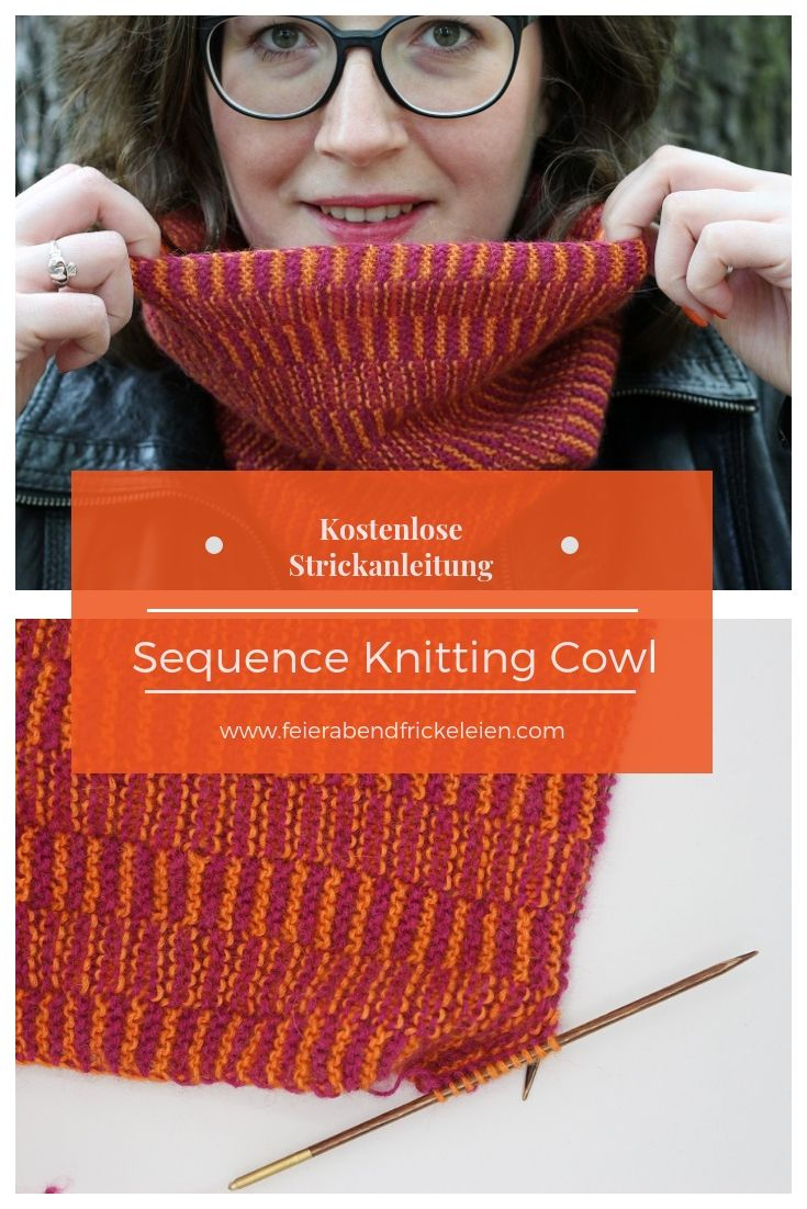 Photo of Kostenlose Strickanleitung: Sequence Knitting Cowl
