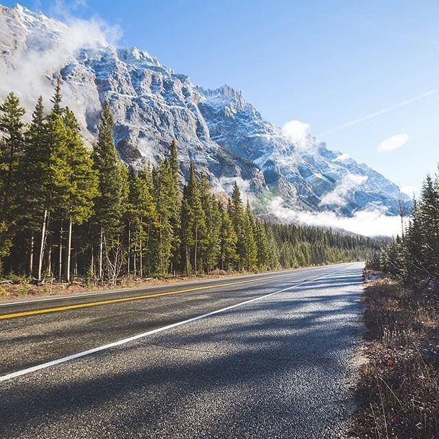Happy Hump Day! Photo by our founder @stephenvalido. Head over to his page for more travel photography!   This photo was taken on Icefields Parkway while driving to Jasper National Park in Alberta - One of the most beautiful drives in the world.  If anyone is planning an upcoming trip to Alberta Canada feel free to email us for travel tips and advice! by nakedplanet