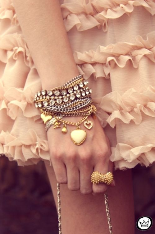 ...some sweet arm candy...