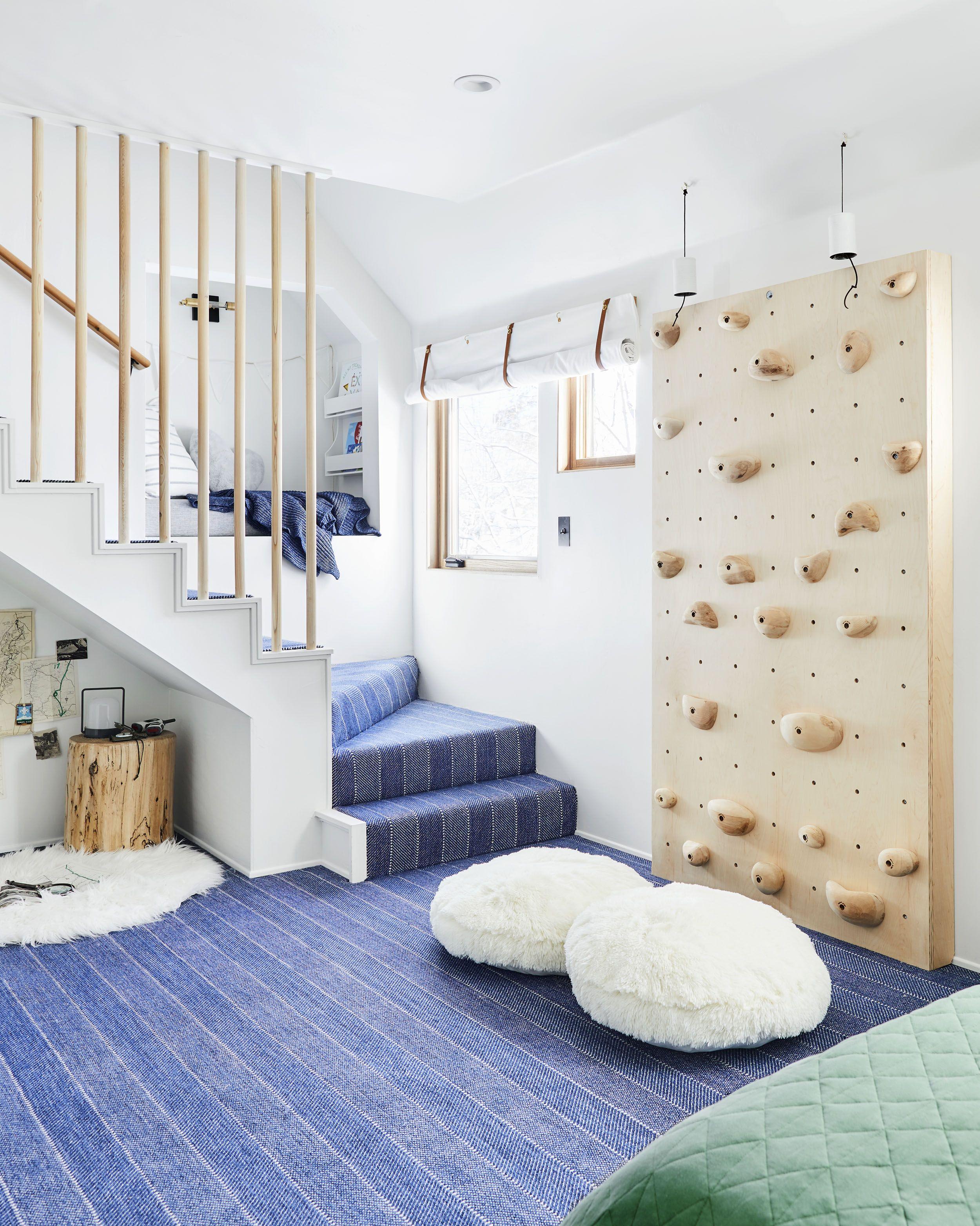 Shared Boys Geometrical Bedroom: How We Designed An Adventure-Themed Shared Boy & Girl