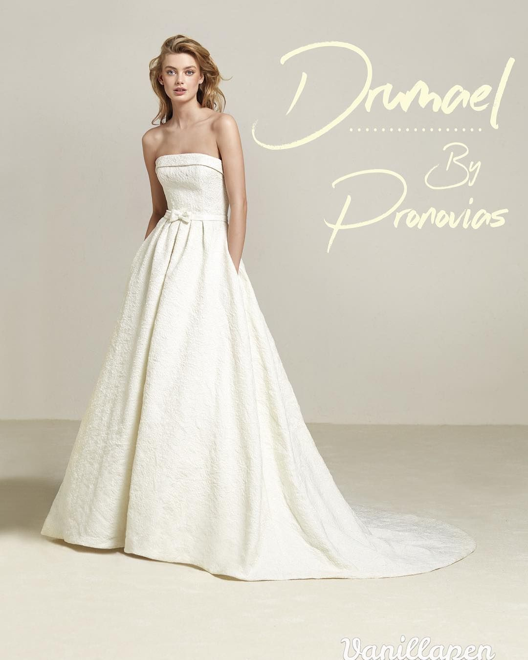 NEW DRESS ALERT! We are thrilled to have yet another new Pronovias ...