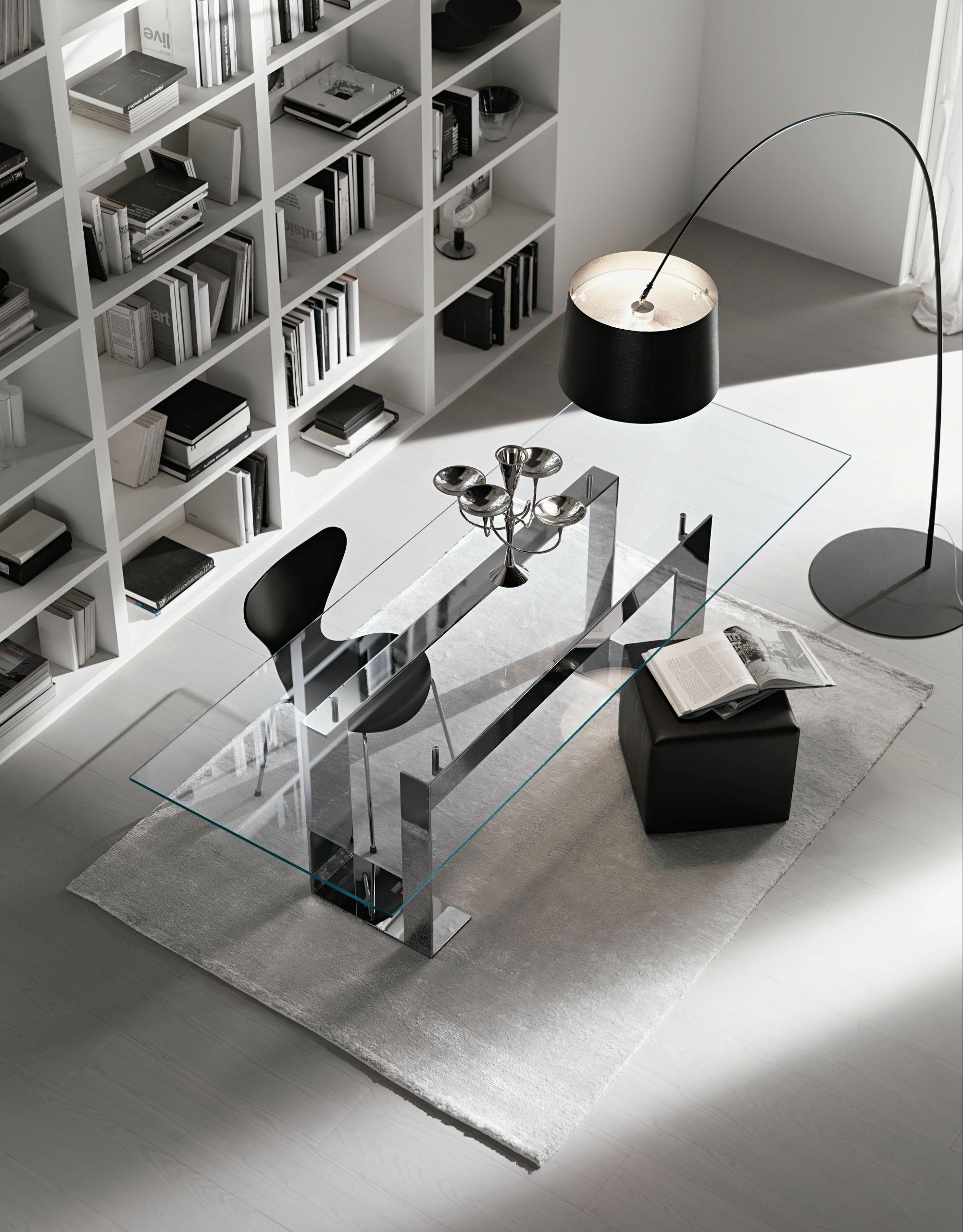 modern lasi me room glass executive desk