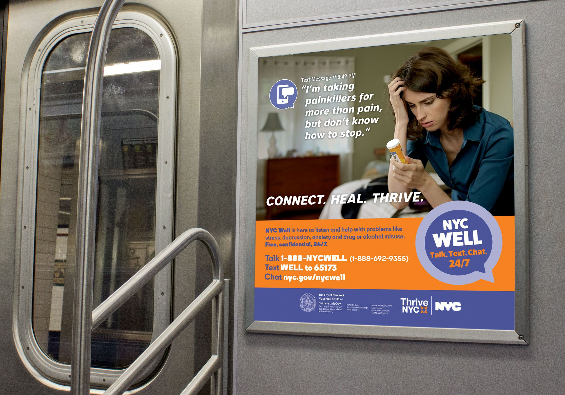 Image Result For Thrive Nyc Ads Mental Health Campaigns Mental