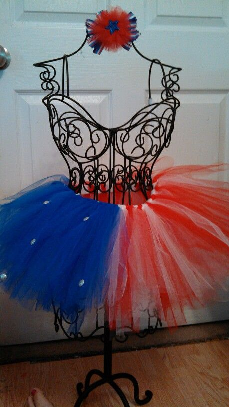 4th of July tutu made by just another hobby