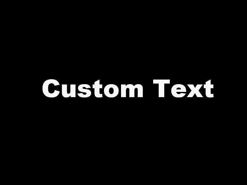 OFF Custom Vinyl Lettering Text Die Cut Decal Tall - Custom vinyl decal text