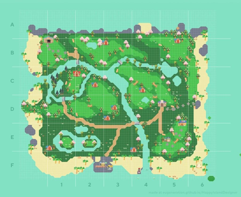 Animal Crossing New Horizons Map Design Ideas Crossingcharm Animal Crossing New Animal Crossing Animal Crossing Game